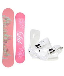 LTD Belle Snowboard w/ Sapient Zeta Bindings