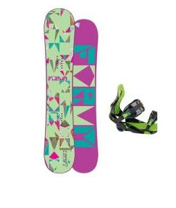 Forum Craft Snowboard w/ Rossignol Justice Bindings