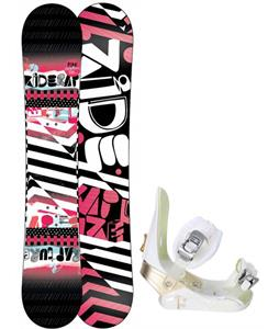 Ride Rapture Snowboard w/ Morrow Lotus Bindings