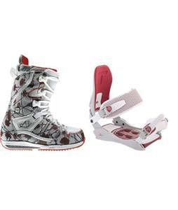 Burton Sapphire Snowboard Boots w/ Technine JV Bindings