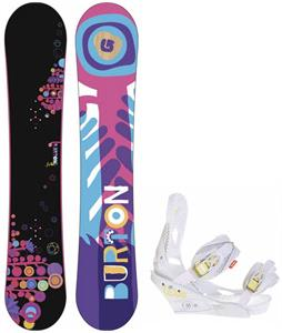 Burton Feather Wide Snowboard w/ Burton Lexa Bindings