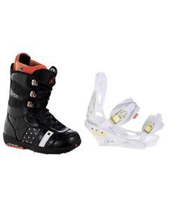 Burton Sapphire Snowboard Boots w/ Burton Lexa Bindings