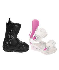 Burton Iroc Snowboard Boots w/ Avalanche Serenity Bindings