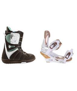 Burton Mint Snowboard Boots w/ Burton Escapade Bindings