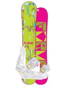 Forum Craft Snowboard w/ Burton Lexa Bindings
