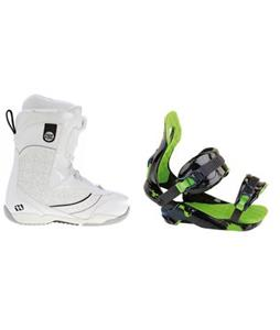 Morrow Kava BOA Snowboard Boots w/ Rossignol Justice Bindings