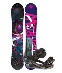 Morrow Seneca Snowboard w/ Morrow Sky Bindings