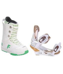 Forum Destroyer Snowboard Boots w/ Burton Escapade Bindings