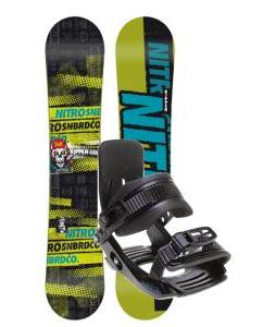 Nitro Ripper Snowboard w/ Salomon Team Bindings