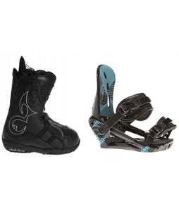 Burton Iroc Snowboard Boots w/ Morrow Sky Bindings