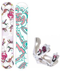 K2 Lil Kandi Snowboard w/ LTD LT250 Bindings