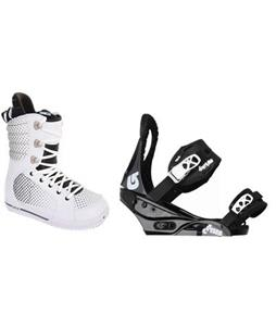 Burton Tryst Snowboard Boots with Burton Citizen Snowboard Bindings