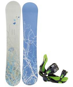 M3 Escape Snowboard w/ Rossignol Justice Snowboard Binding