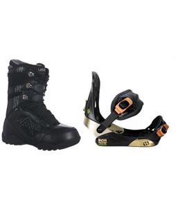 Morrow Invasion Snowboard Bindings w/ Lamar Justice Snowboard Boots