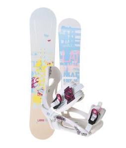 Lamar Foxie Snowboard w/ LTD LT250 Bindings