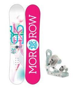 Morrow Sky Snowboard w/ Ride LXH Bindings