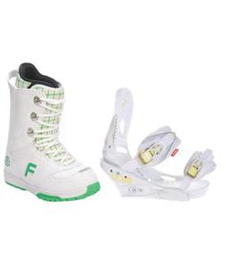 Forum Destroyer Snowboard Boots w/ Burton Lexa Bindings