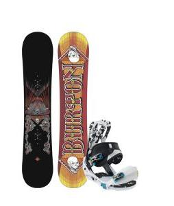 Burton TWC Smalls Snowboard w/ Burton Mission Smalls Bindings