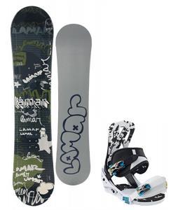 Lamar Omen Snowboard w/ Burton Mission Smalls Bindings