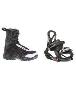 Sapient Prodigy Snowboard Bindings w/ M3 Militia Jr Snowboard Boots