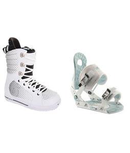 Burton Tryst Snowboard Boots w/ Ride LXH Bindings