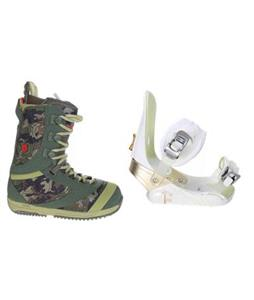 Burton Sapphire Boots w/ Morrow Lotus Bindings