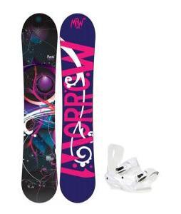 Morrow Seneca Snowboard w/ Sapient Zeta Bindings