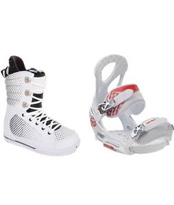 Burton Tryst Snowboard Boots w/ Burton Stiletto EST Bindings