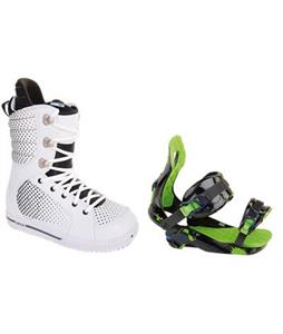 Burton Tryst Snowboard Boots w/ Rossignol Justice Bindings