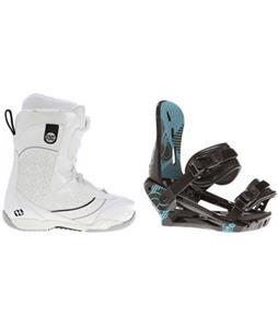 Morrow Kava BOA Snowboard Boots w/ Morrow Sky Bindings