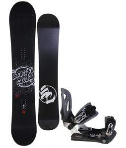 Santa Cruz All Star Vato Dato Snowboard w/ Lamar MX30 Bindings