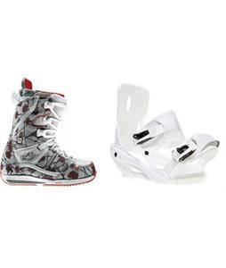 Burton Sapphire Snowboard Boots w/ Sapient Zeta Bindings