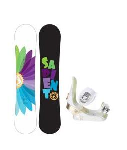 Sapient Color Wheel Snowboard w/ Morrow Lotus Bindings