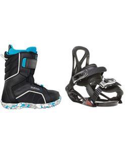 Sapient Prodigy Snowboard Bindings with Burton Zipline Snowboard Boots