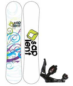 Sapient Spiral Snowboard w/ Burton Escapade Bindings