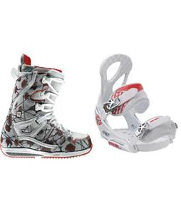 Burton Sapphire Snowboard Boots w/ Burton Stiletto EST Bindings