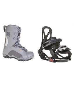 Sapient Prodigy Snowboard Bindings w/ Lamar Force Snowboard Boots