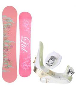 LTD Belle Snowboard w/ Morrow Lotus Bindings