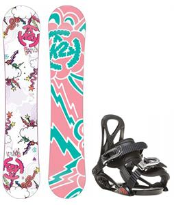 K2 Lil Kandi Snowboard w/ Sapient Prodigy Bindings