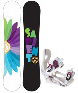 Sapient Color Wheel Snowboard w/ LTD LT250 Bindings