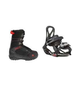 Sapient Prodigy Snowboard Bindings w/ Sapient Prodigy Snowboard Boots