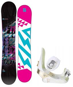 5150 Sienna Snowboard w/ Morrow Lotus Bindings