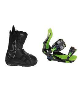 Burton Iroc Snowboard Boots w/ Rossignol Justice Bindings