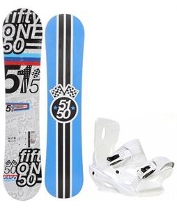 5150 Shooter Snowboard w/ Sapient Zeus Bindings