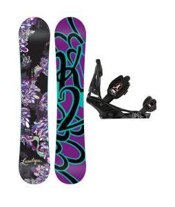 K2 Lunatique Snowboard w/ Burton Escapade Bindings