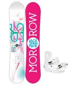 Morrow Sky Snowboard w/ Sapient Zeta Bindings