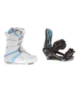 Sapient Mystic Snowboard w/ Morrow Sky Bindings