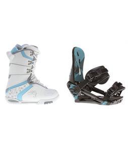 M3 Cosmo Snowboard Boots w/ Morrow Sky Bindings