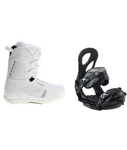 5150 Cypress Snowboard Boots w/ Burton Stiletto EST Bindings