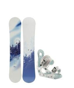 M3 Free Snowboard w/ Ride LXH Bindings